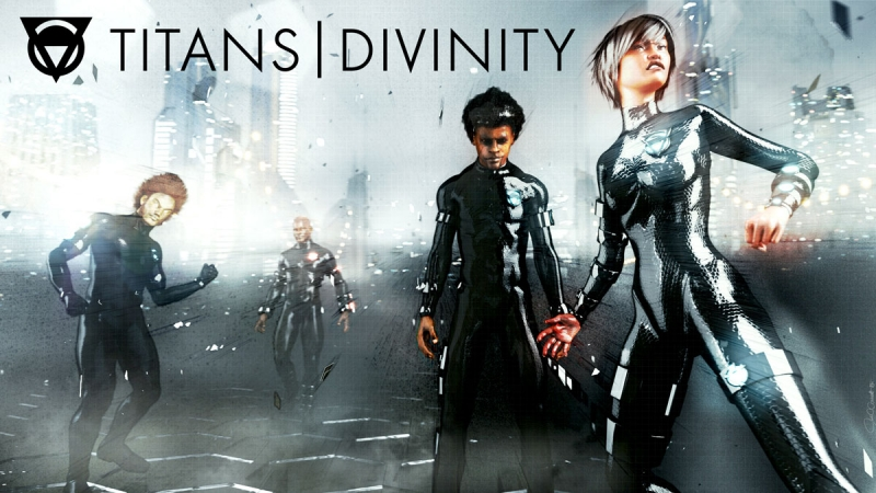 TITANS|DIVINITY Poster