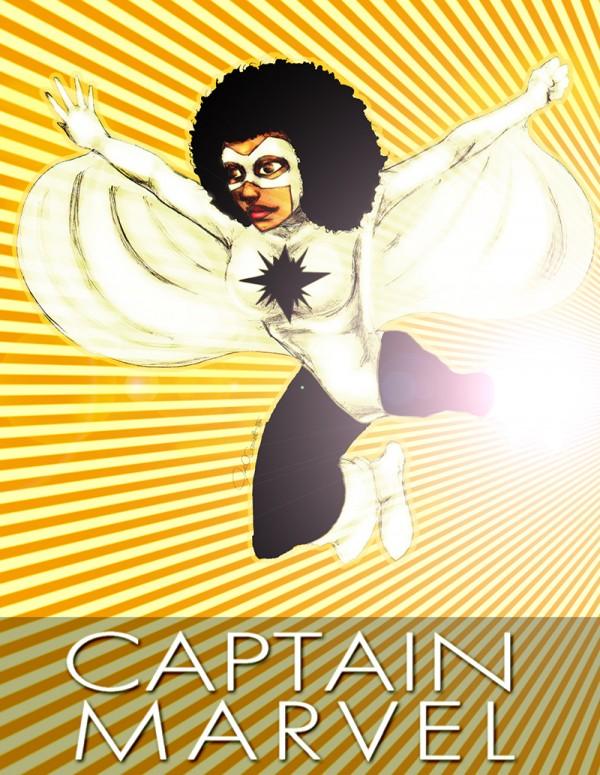 Black Captain Marvel