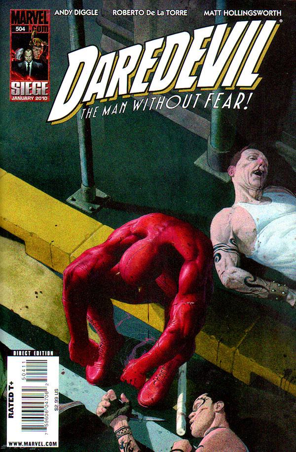 Daredvil #504 Cover