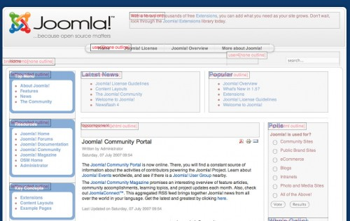 default module tooltip styling in Joomla