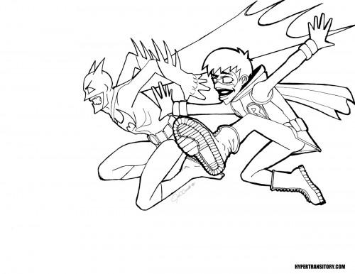Batman-Robin-MANGA-INK