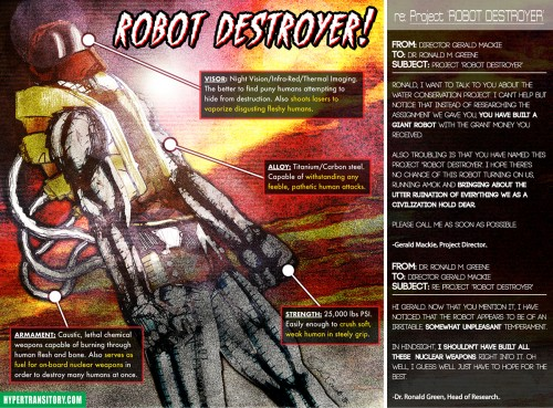 ROBOTS IN THE FUTURE WILL DESTROY US ALL