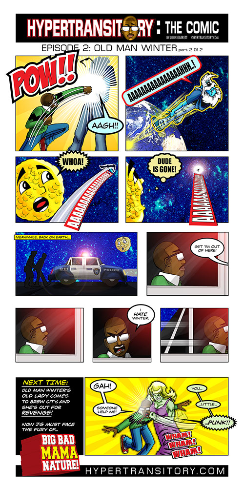 Hypertransitory the Comic episode 2: WINTER-Click image to view larger.