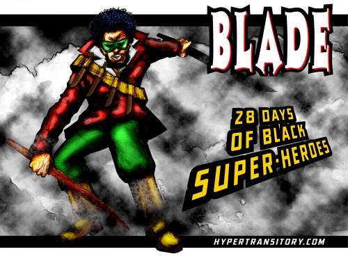 Blade artwork by John Garrett
