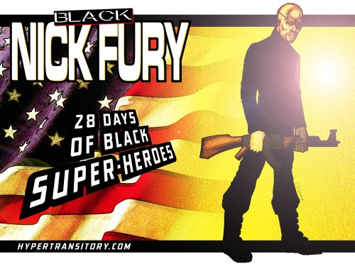 Black-Nick-Fury-final art by John Garrett