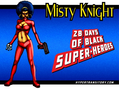 Misty-Knight-FINAL art by John Garrett