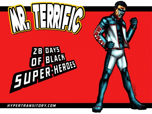 Mr-Terrific-art by john garrett