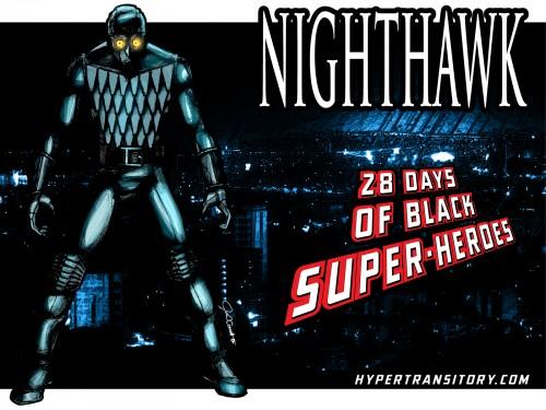 Nighthawk art by john garrett