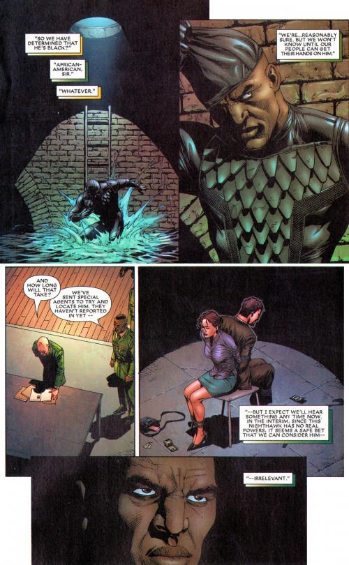 Squadron Supreme #1: Don't mess with Nighthawk
