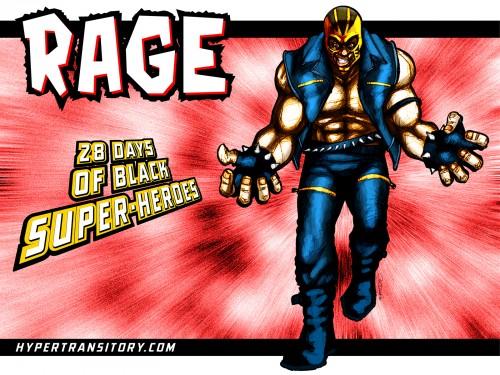 Marvel Superhero Rage art by John Garrett