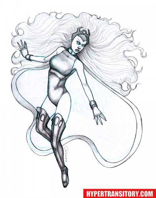 Storm-FINAL-pencil by John Garrett