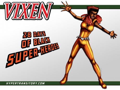 vixen from dc comics