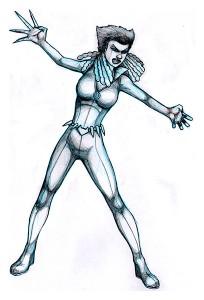 VIXEN pencil art