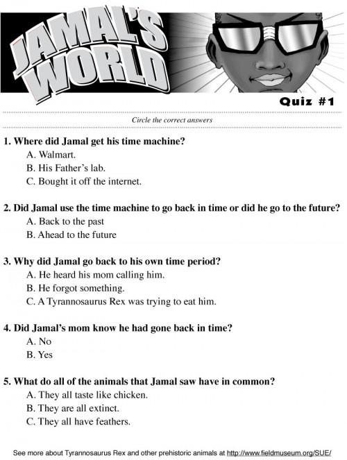 Jamal World Quiz-1