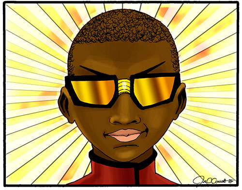 Jamal's World educational comic