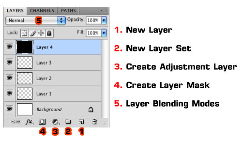 The Photoshop Layers Palette