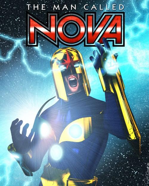 Nova in a close up pose