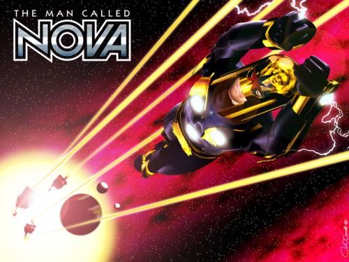 Nova on the run from hostile aliens