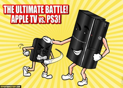APPLE TV vs PS3