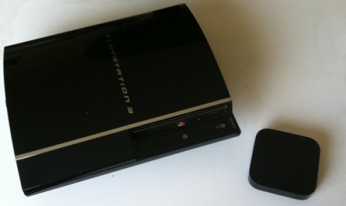 ps3 size compared to apple tv