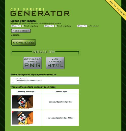 joomla image rollover menu