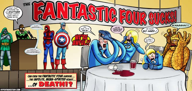 Why The Fantastic Four Are Terrible People