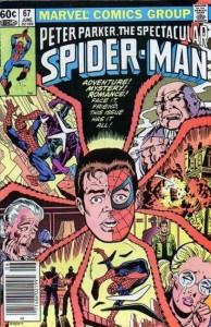 Peter Parker, The Spectacular Spider-Man Vol 1 #67