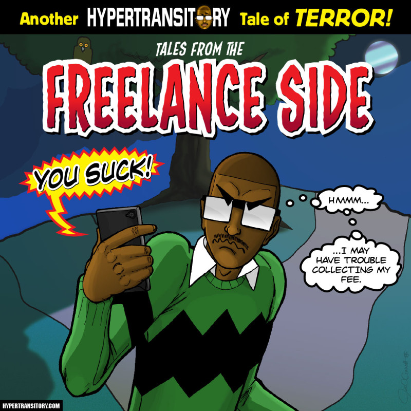 JG and the Tales from the Freelance Side