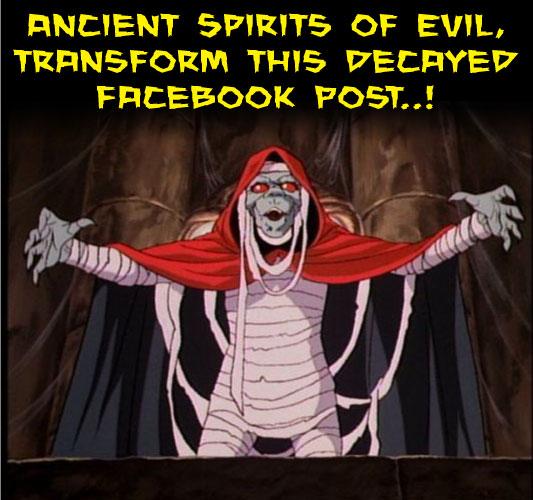 Evil Facebook Boost Post