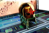 Nova Helmet created in Blender and Daz Studio.