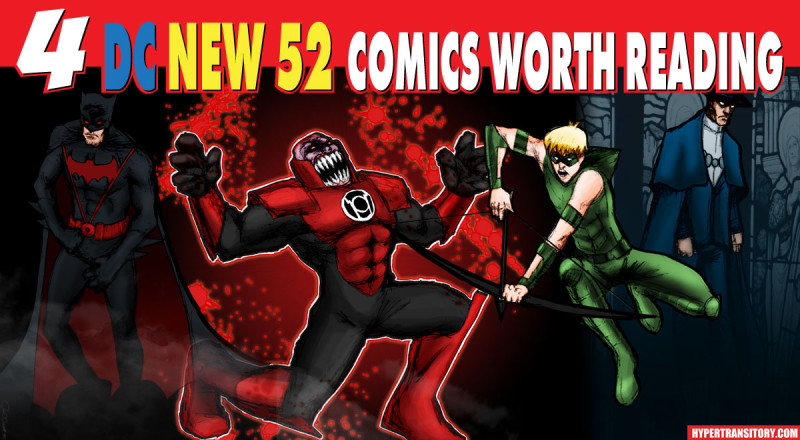 4 DC New 52 Comics Worth Reading