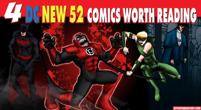 4 DC New 52 Comics Worth Reading