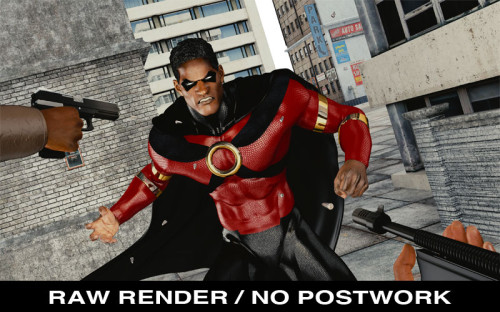 Icon raw render