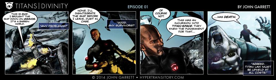 Comic: Titans-Divinity Episode 01