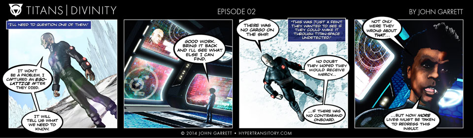 Comic: Titans-Divinity Episode 02
