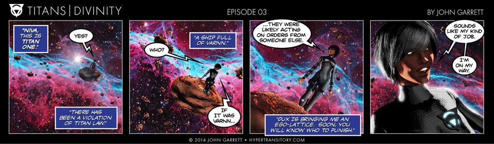 Comic: Titans-Divinity Episode 03