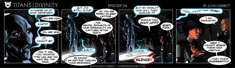 Comic: Titans-Divinity Episode 04