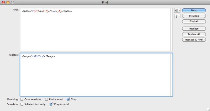 Adobe Illustrator variable Data grep