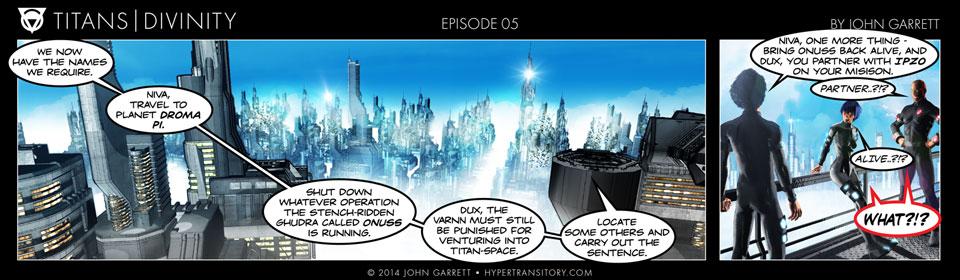 Comic: Titans-Divinity Episode 05