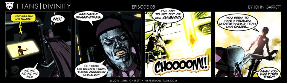 Comic: Titans-Divinity Episode 08