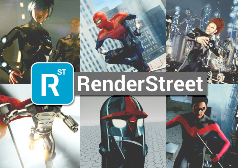 John Garrett Interviewed on Renderstreet