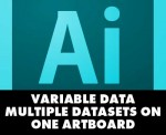 Adobe Illustrator Variable Data - Multiple Datasets With Variableimporter Script