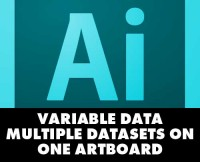 Adobe Illustrator Variable Data - Multiple Datasets With Variableimporter Script