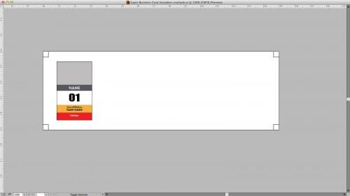 Resized Illustrator artboard.